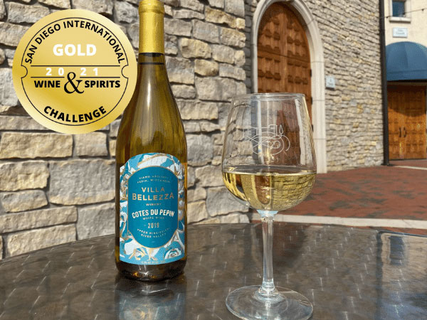 VB CDPW Gold Award from San Diego International Wine & Sprits Challenge
