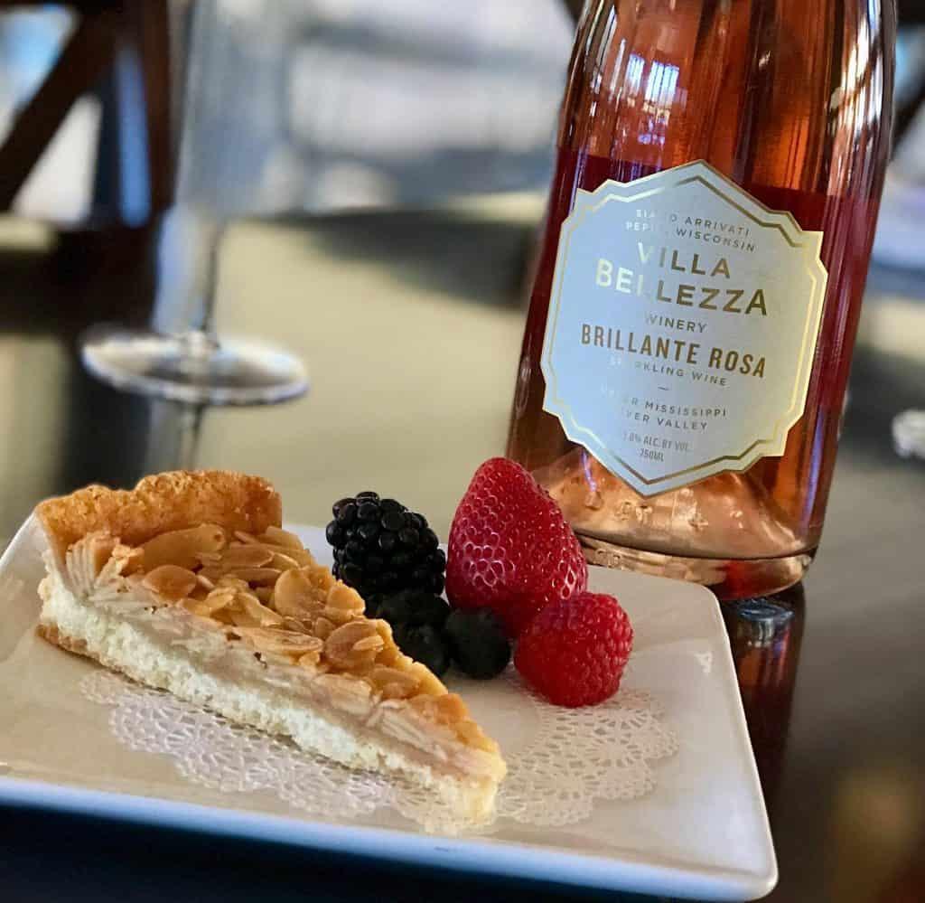 Dessert at Villa Bellezza Winery