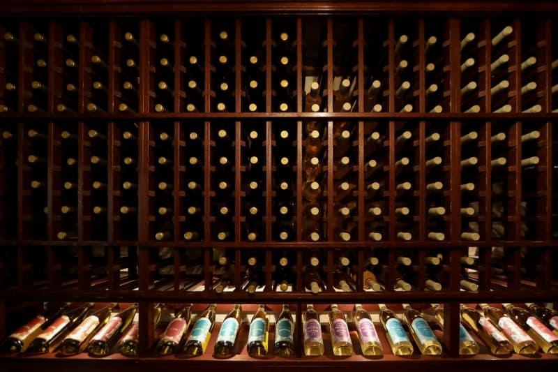 Villa Bellezza Winery - Wall of Wine