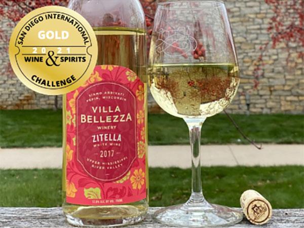 Zitella Wine Gold Award from San Diego International Wine & Sprits Challenge